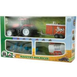 ZESTAW FARMA TRAKTOR + 3...