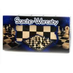 SZACHO- WARCABY 0162 MAGIERA