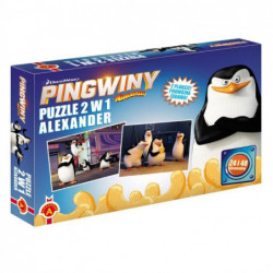 PUZZLE 2W1 PINGWINY 1678...