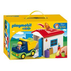 PLAYMOBIL 6759 CIĘŻARÓWKA Z...