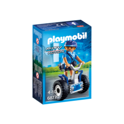 PLAYMOBIL 6877 POLICJANTKA...