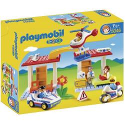 PLAYMOBIL 5046 POLICJA I...