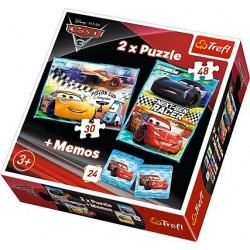 PUZZLE TREFL 2W1 + MEMO...