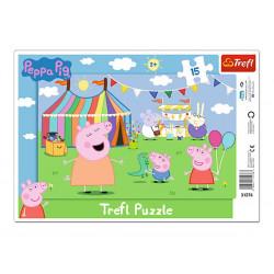 PUZZLE TREFL 15 31276 PEPPA...