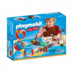 PLAYMOBIL 9328 PLAY MAP PIRACI