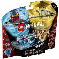 LEGO 70663 SPINJITZU NYA & WU
