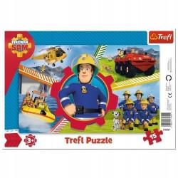 PUZZLE TREFL 15 31351 RAMKA...