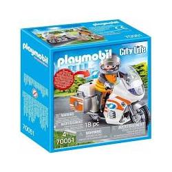 PLAYMOBIL 70051 MOTOCYKL...