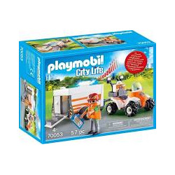 PLAYMOBIL 70053 QUAD...