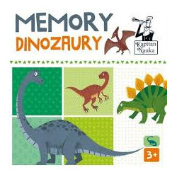 Edgard 46553 memory dinozaury