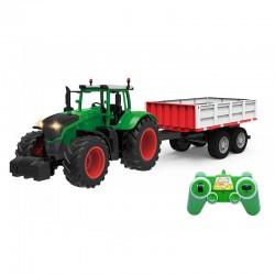 Askato traktor z przyczepą...