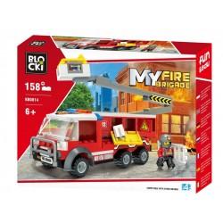 KLOCKI BLOCKI KB0814MY FIRE...