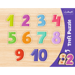 Puzzle Trefl 31304 ramka cyfry