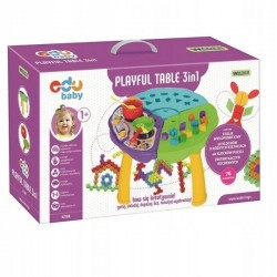 WADER 42190 PLAYFUL TABLE 3W1