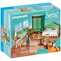 Playmobil 9476 sypialnia Lucky