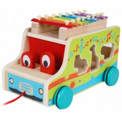Autobus drewniany do...