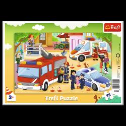 Puzzle Trefl 15 31355 ramka...