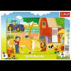 Puzzle Trefl 15 31356 ramka...