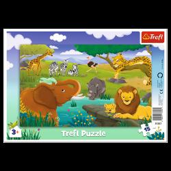Puzzle Trefl 15 31357 ramka...