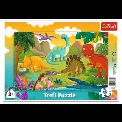 Puzzle Trefl 15 31359 ramka...