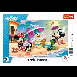Puzzle Trefl 15 31390 ramka...