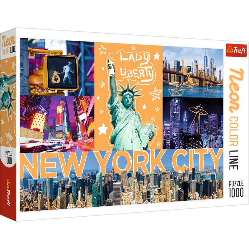 Jak wybierać puzzle dla dzieci ? -puzzle-trefl-1000-10579-neonowe-miasto